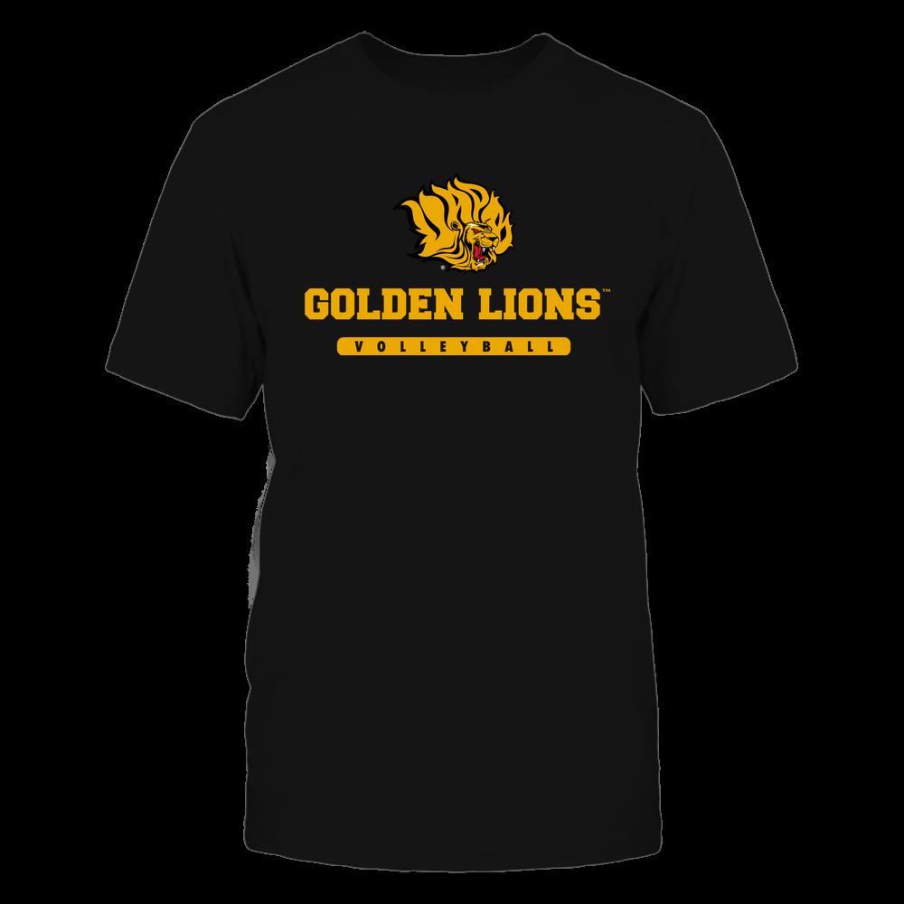 Arkansas Pine Bluff Golden Lions - Mascot - Logo - Volleyball Front picture