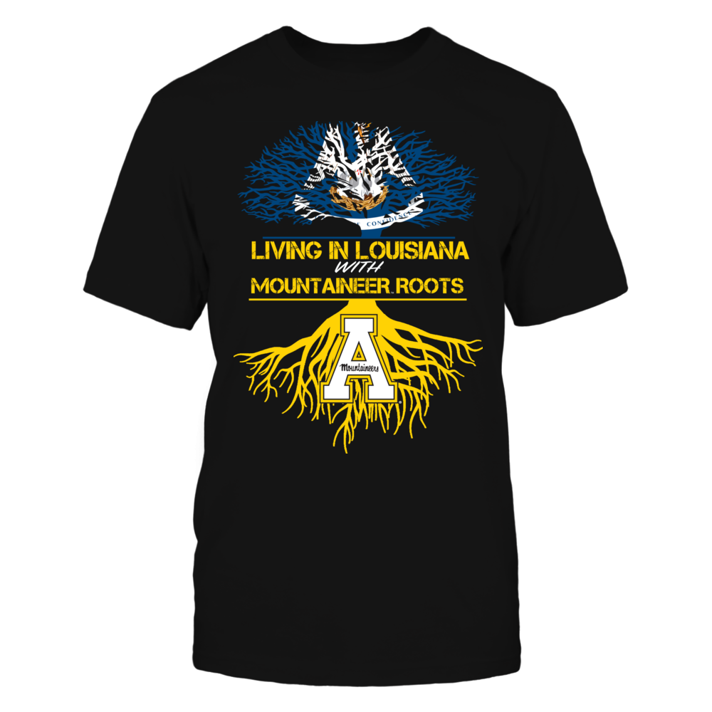 Appalachian State Mountaineers - Living Roots Louisiana Front picture