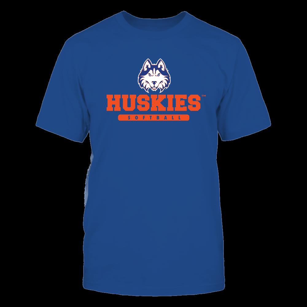 Houston Baptist Huskies - Mascot - Logo - Softball Front picture