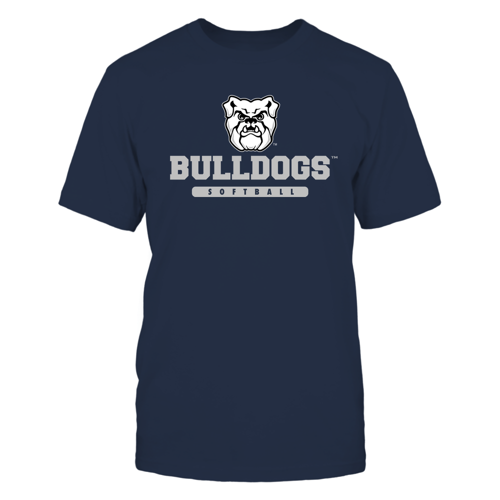 Butler Bulldogs - Mascot - Logo - Softball Front picture