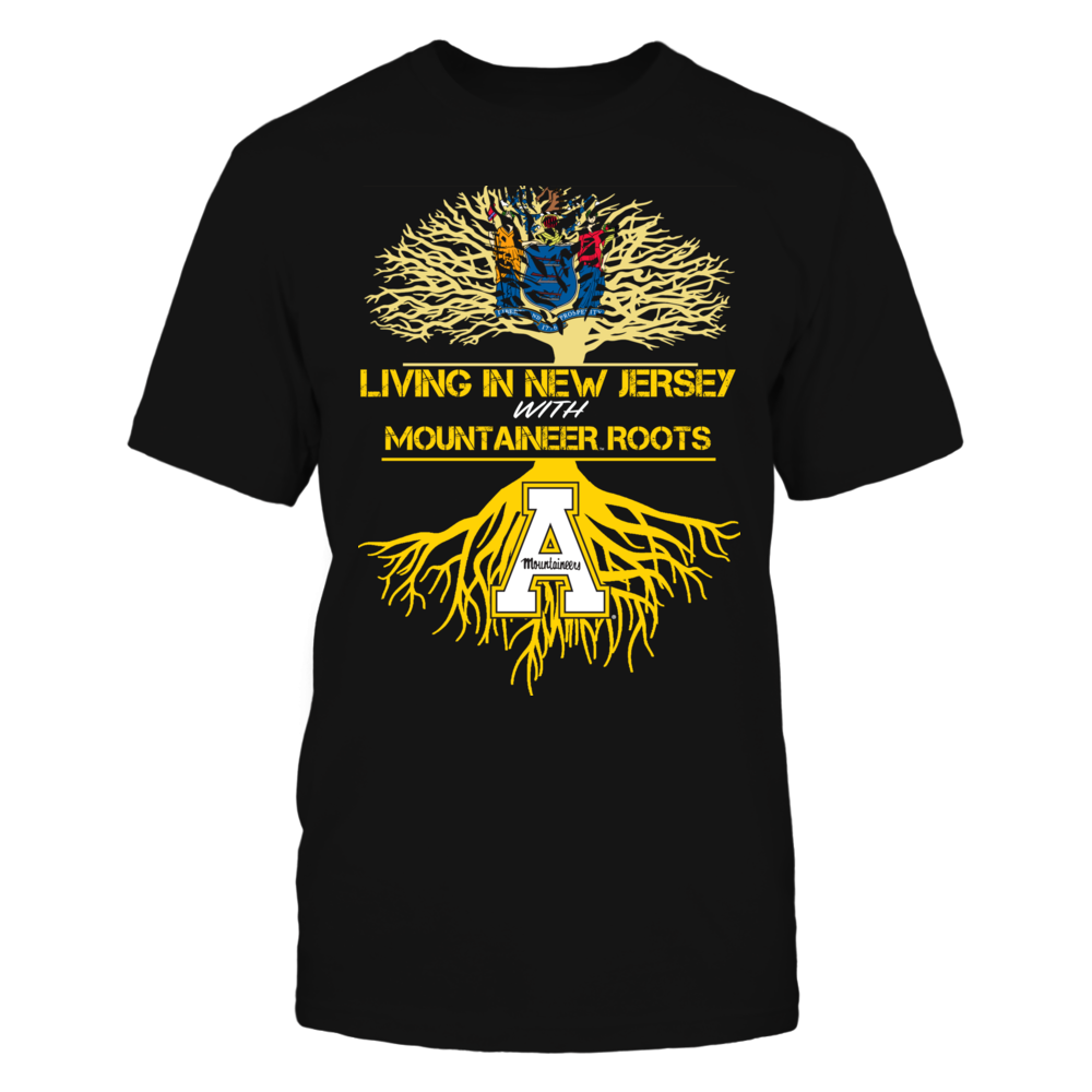 Appalachian State Mountaineers - Living Roots New Jersey Front picture