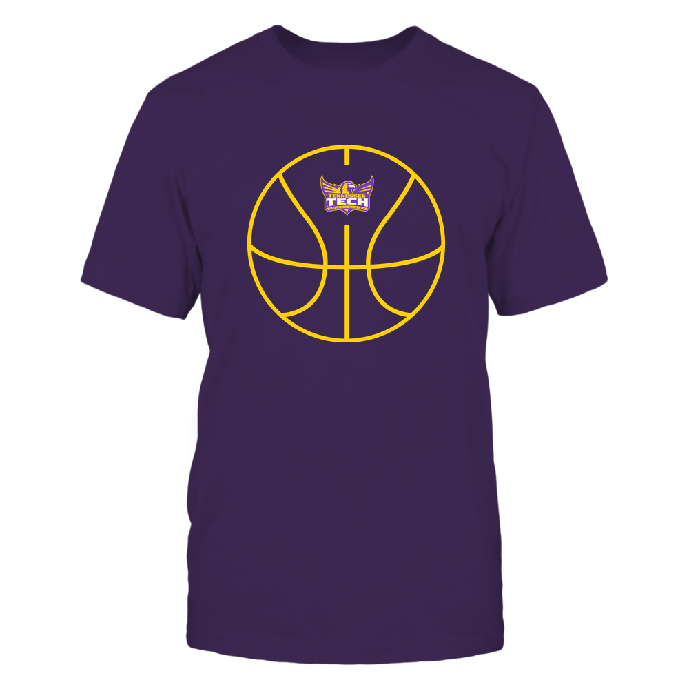 Tennessee Tech Golden Eagles - Basketball - Ball Outline Front picture