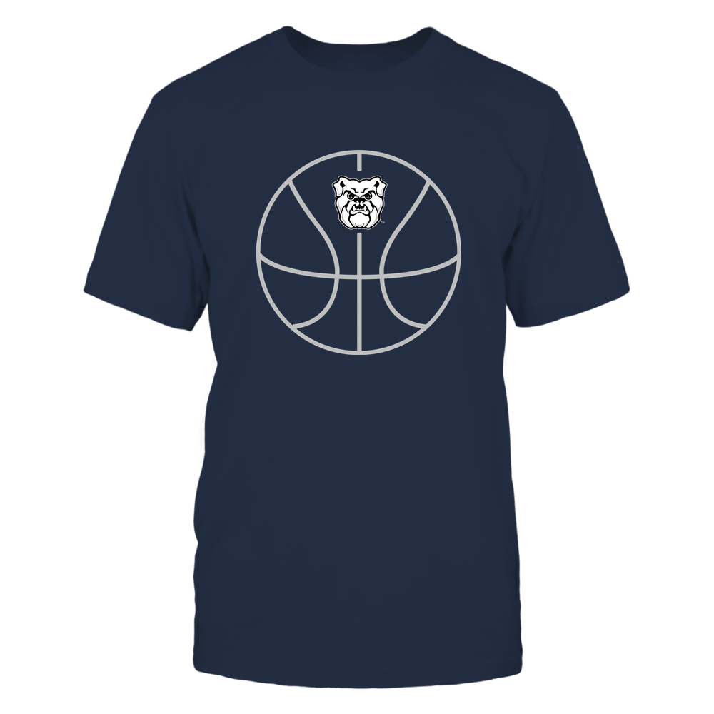 Butler Bulldogs - Basketball - Ball Outline Front picture