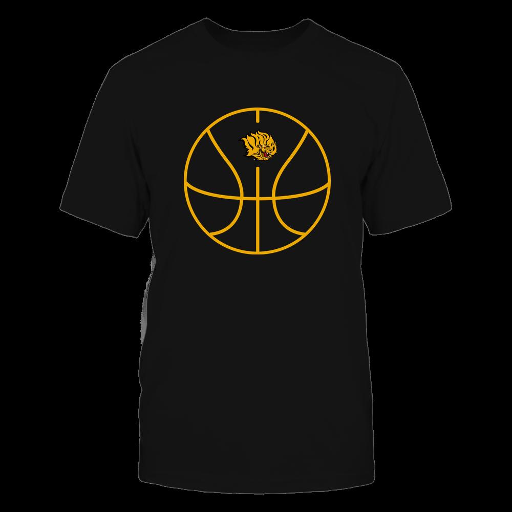 Arkansas Pine Bluff Golden Lions - Basketball - Ball Outline Front picture