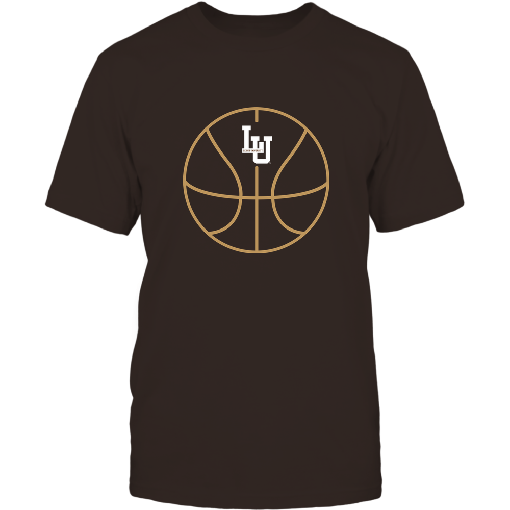 Lehigh Mountain Hawks - Basketball - Ball Outline Front picture