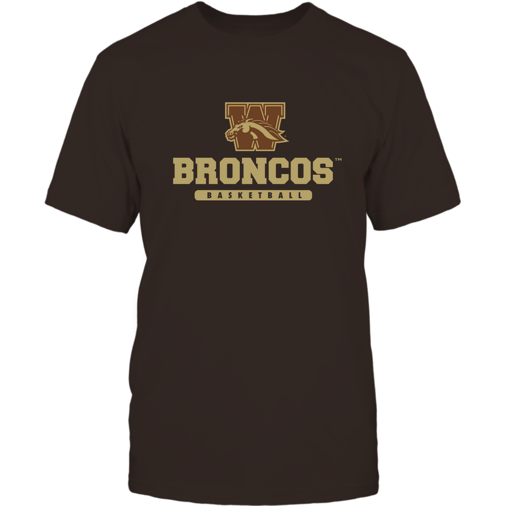 Western Michigan Broncos - Mascot - Logo - Basketball Front picture