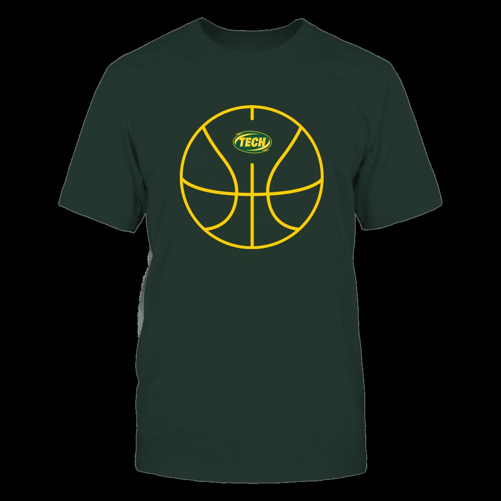 Arkansas Tech Golden Suns - Basketball - Ball Outline Front picture