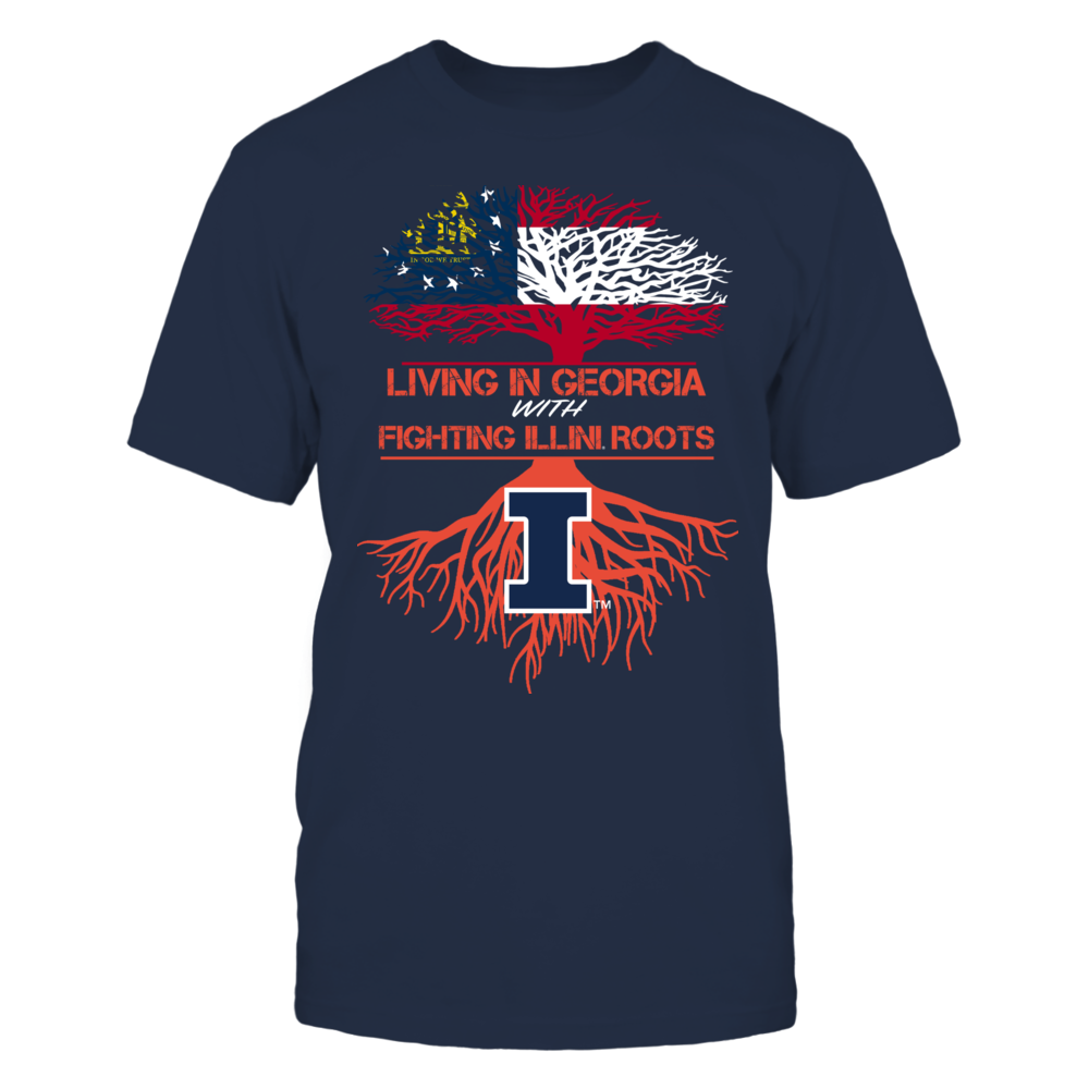 Illinois Fighting Illini - Living Roots Georgia Front picture