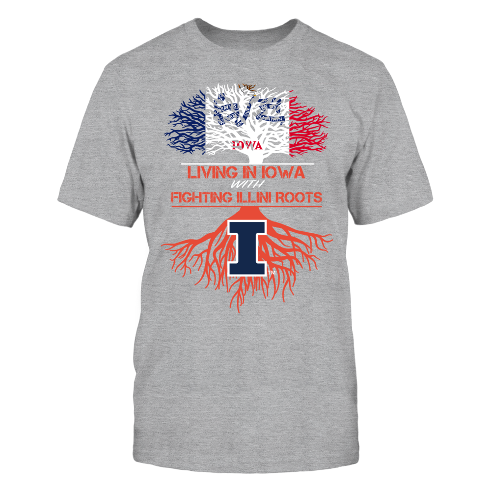 Illinois Fighting Illini - Living Roots Iowa Front picture