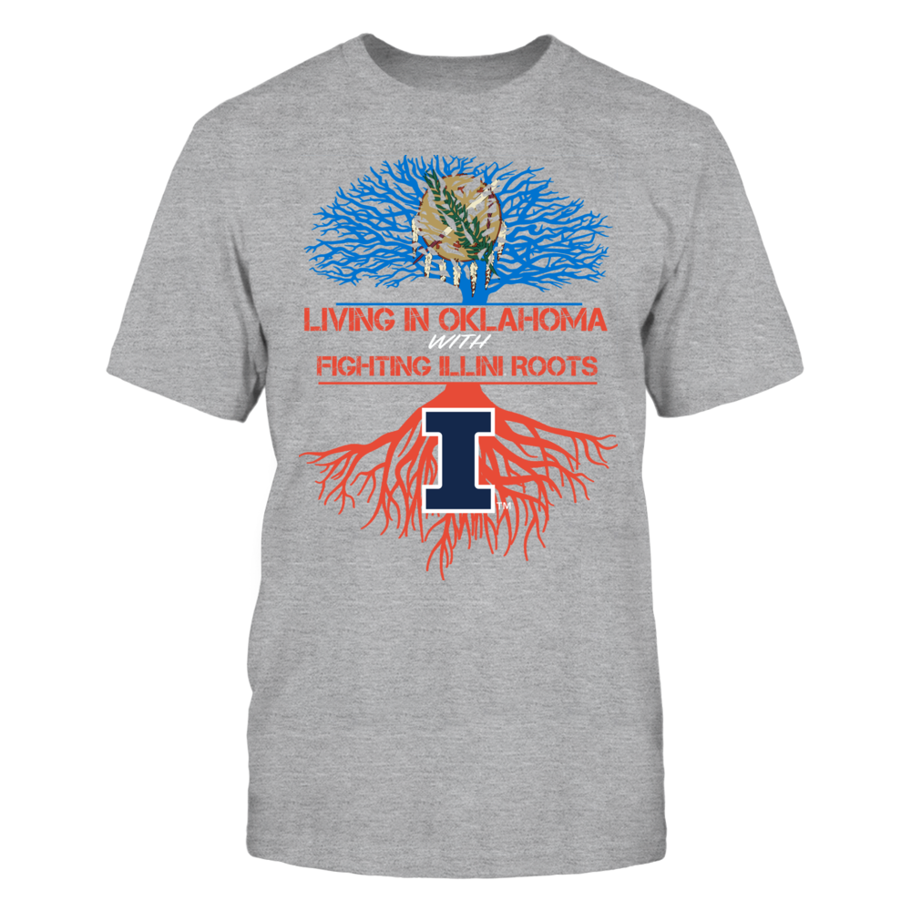 Illinois Fighting Illini - Living Roots Oklahoma Front picture