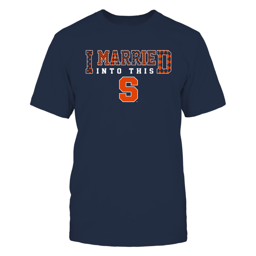 Syracuse Orange - I Married Into This - Pattern Front picture