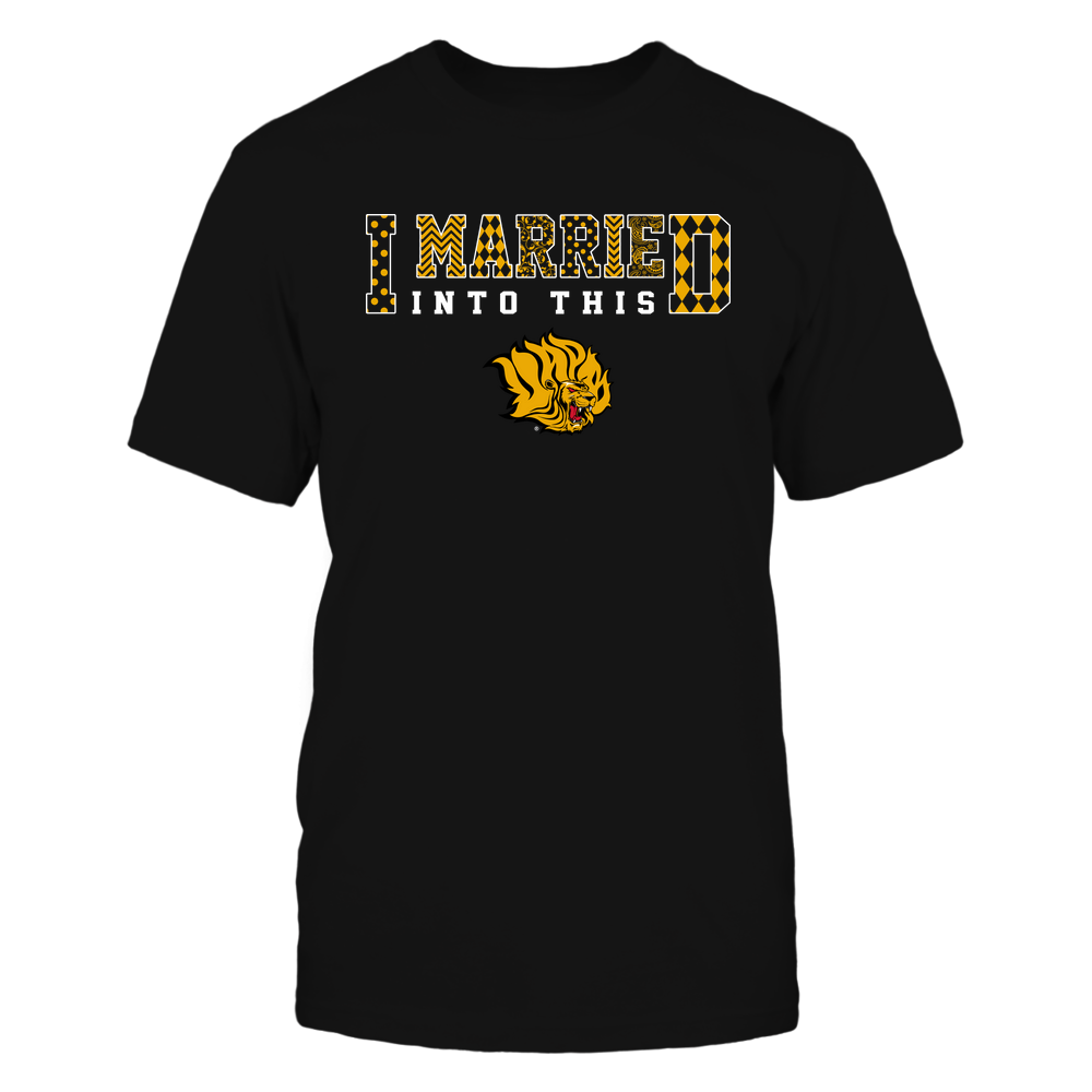 Arkansas Pine Bluff Golden Lions - I Married Into This - Pattern Front picture