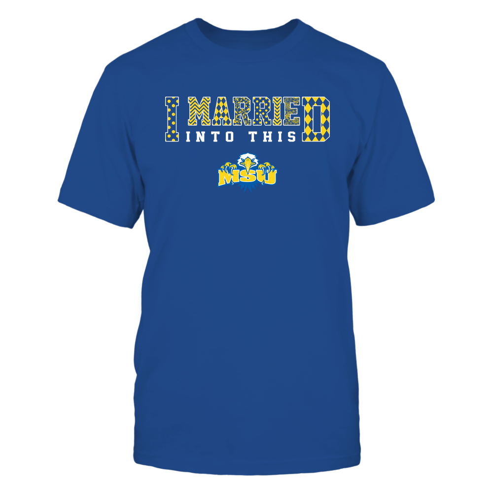 Morehead State Eagles - I Married Into This - Pattern Front picture