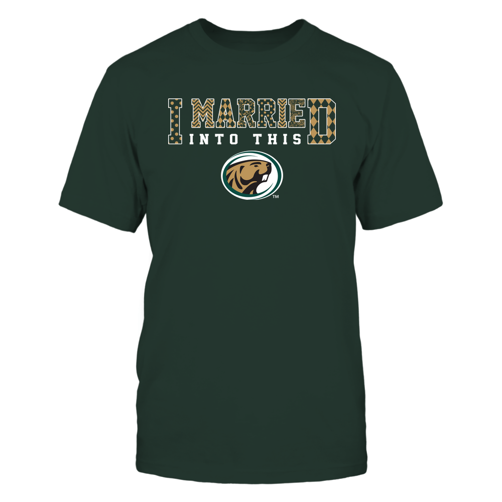 Bemidji State Beavers - I Married Into This - Pattern Front picture