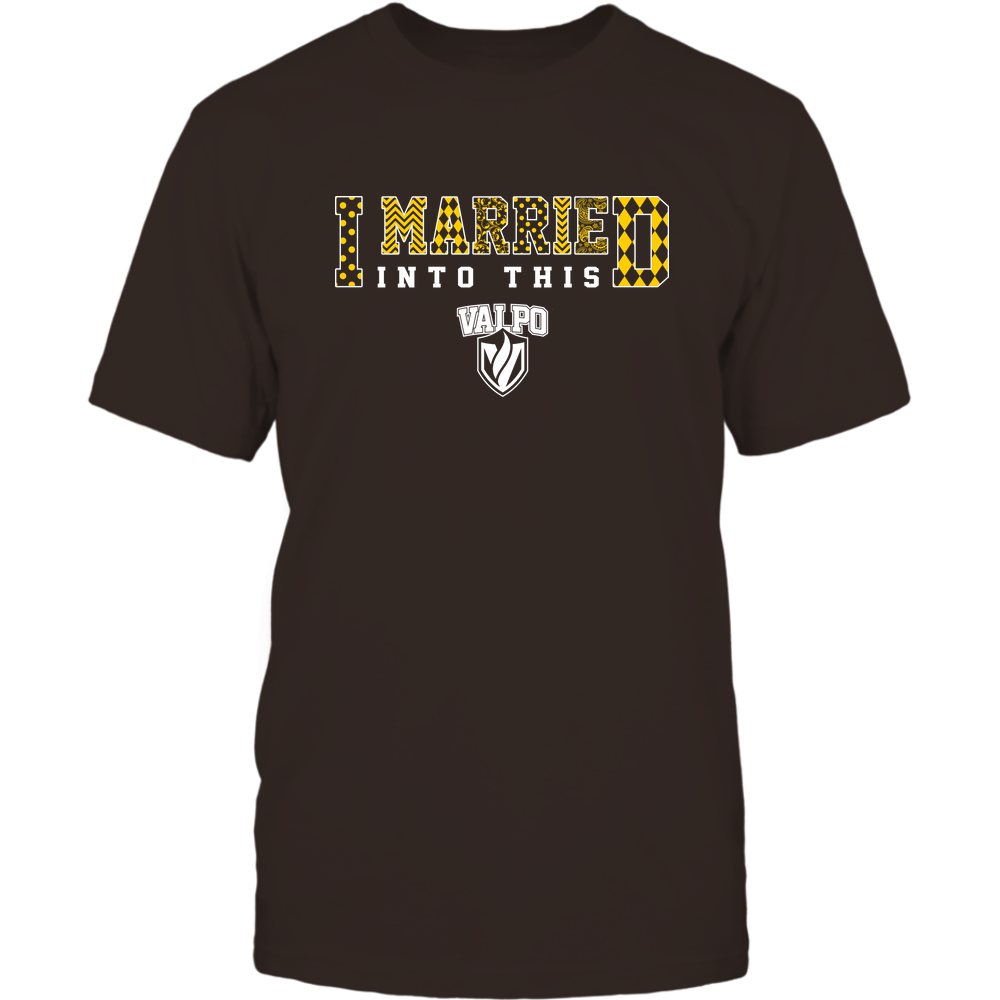 Valparaiso Crusaders - I Married Into This - Pattern Front picture