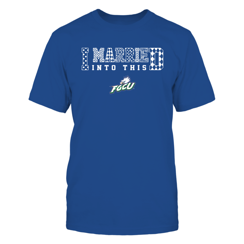 Florida Gulf Coast Eagles - I Married Into This - Pattern Front picture