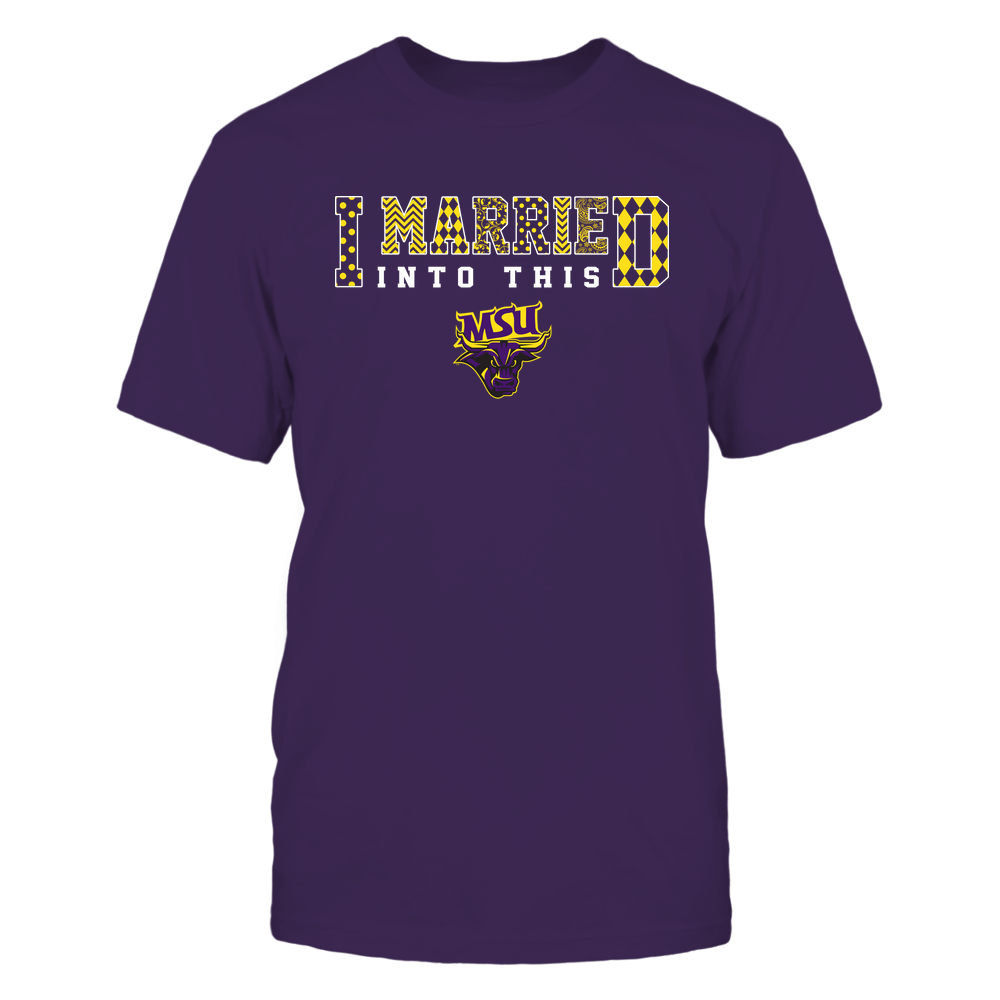 Minnesota State Mavericks - I Married Into This - Pattern Front picture