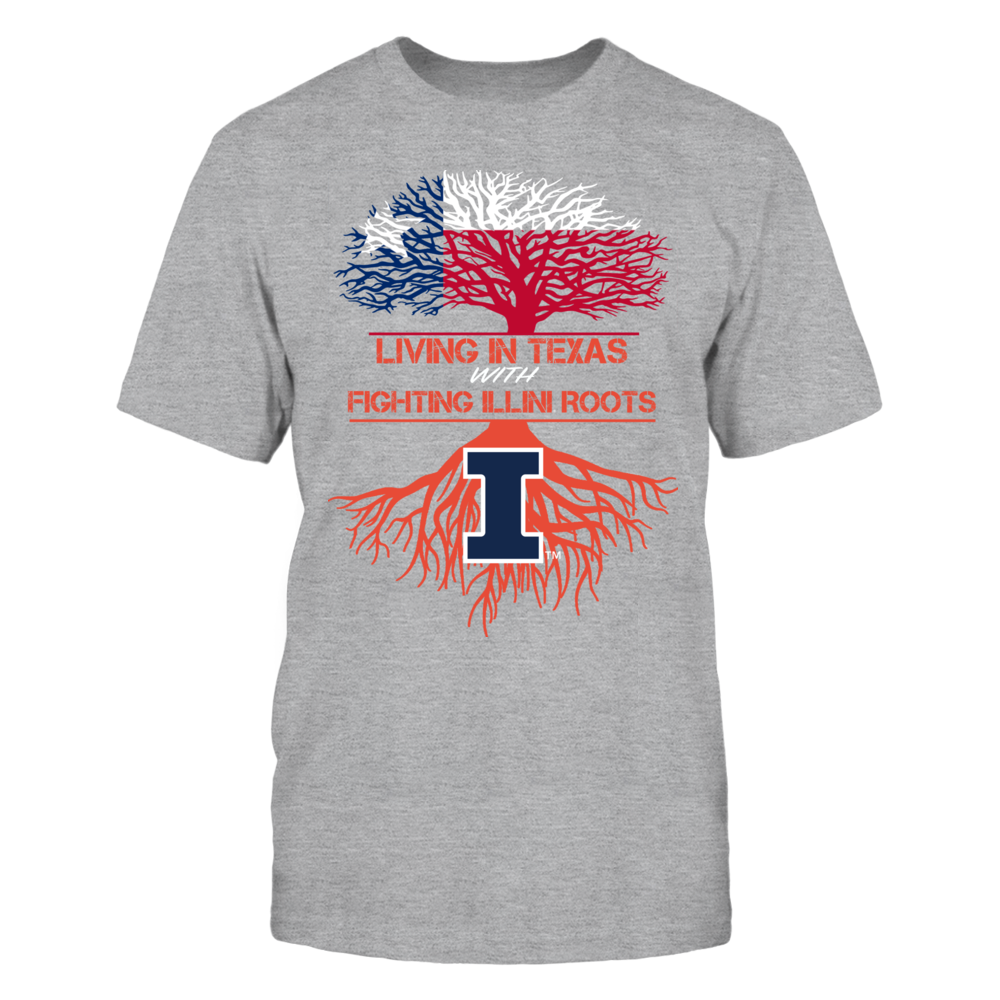 Illinois Fighting Illini - Living Roots Texas Front picture