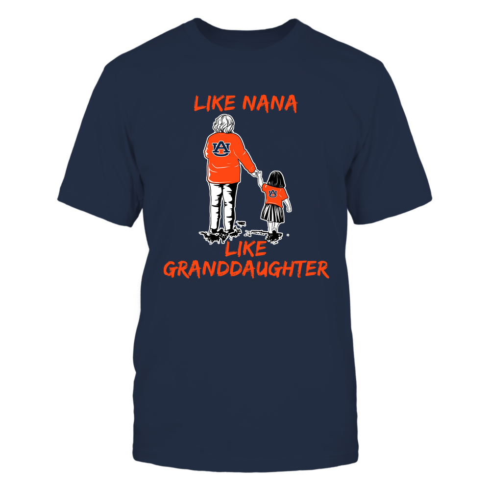 Auburn Tigers - Like Nana Like Granddaughter Front picture