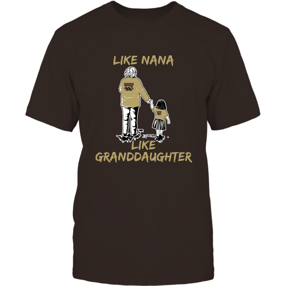 Western Michigan Broncos - Like Nana Like Granddaughter Front picture