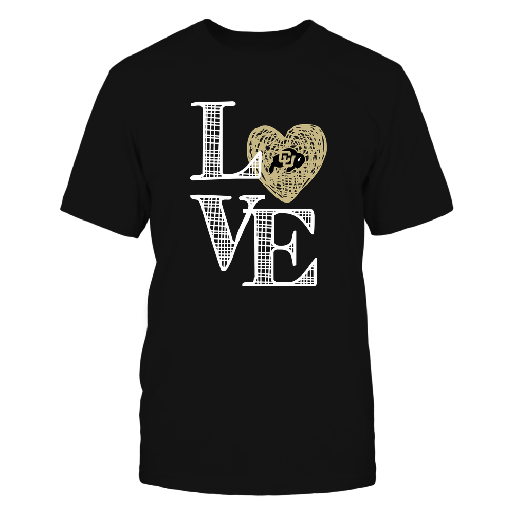Colorado Buffaloes - Love grid - Team  - IF-IC32-DS83 Front picture