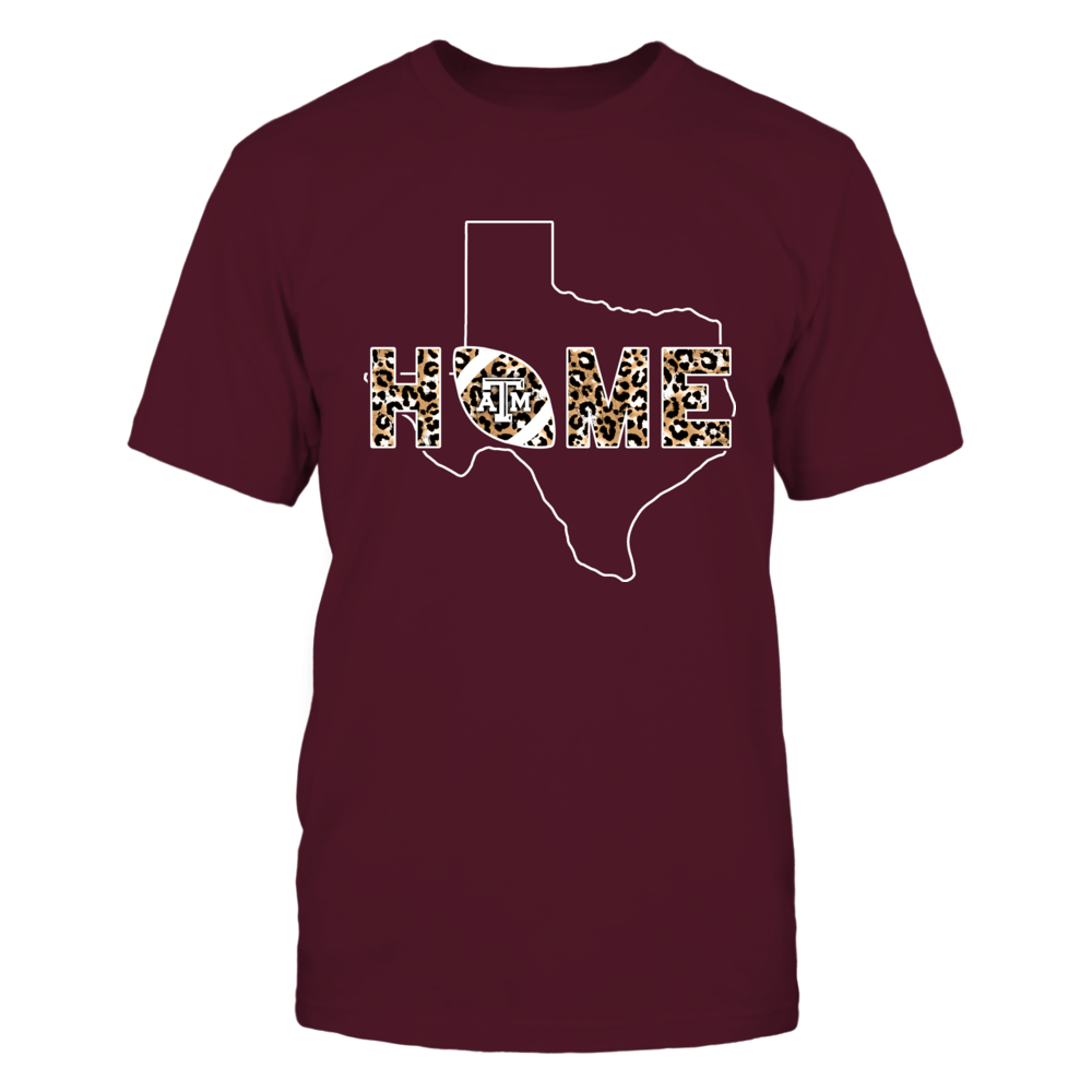 Texas A&M Aggies - Home - Football State Outline Leopard - IF13-IC13-DS27 Front picture