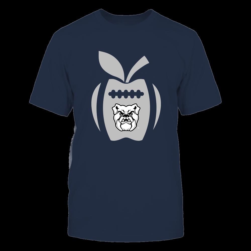 Butler Bulldogs - Teacher - Apple Football Line Front picture