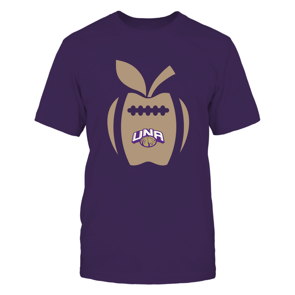 North Alabama Lions - Teacher - Apple Football Line Front picture