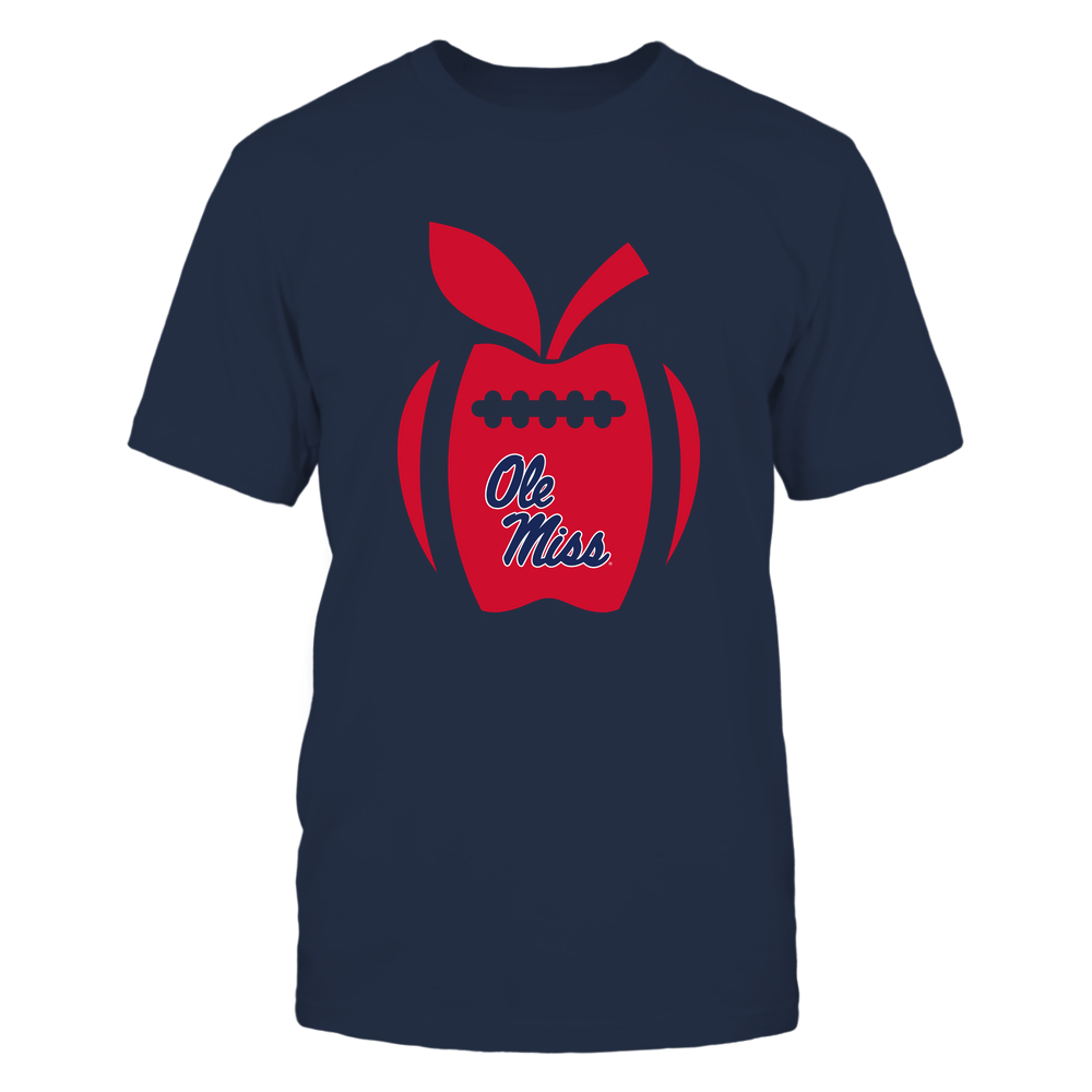 Ole Miss Rebels - Teacher - Apple Football Line Front picture