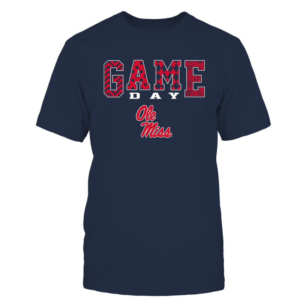 Ole Miss Rebels - Game Day - Pattern Front picture