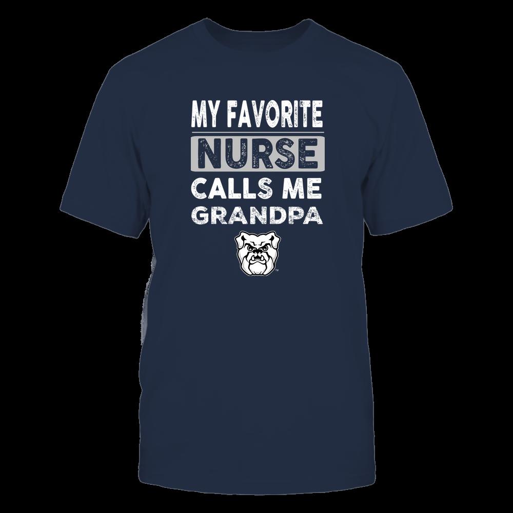 Butler Bulldogs - My Favorite Nurse - Grandpa Front picture