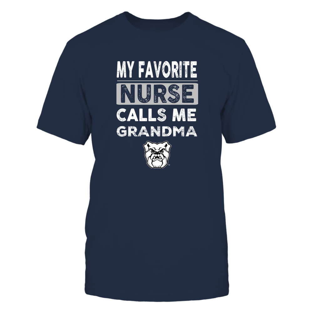 Butler Bulldogs - My Favorite Nurse - Grandma Front picture