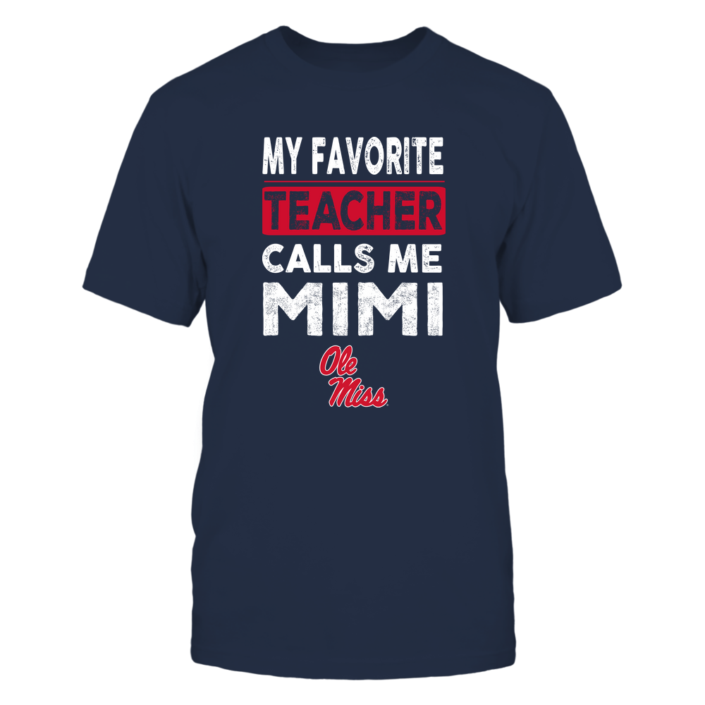 Ole Miss Rebels - My Favorite Teacher - Mimi Front picture