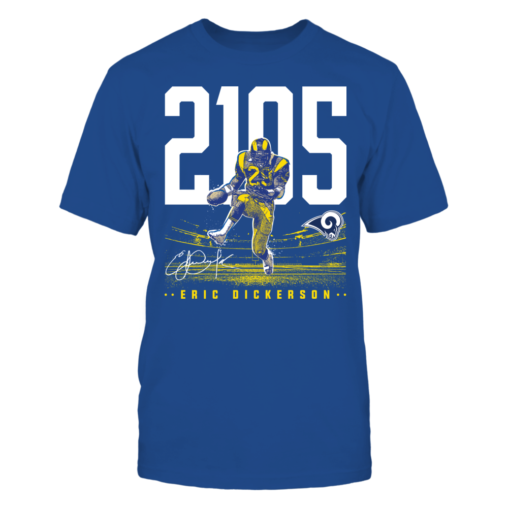 Los Angeles Rams - 2015 Eric Dickerson Front picture