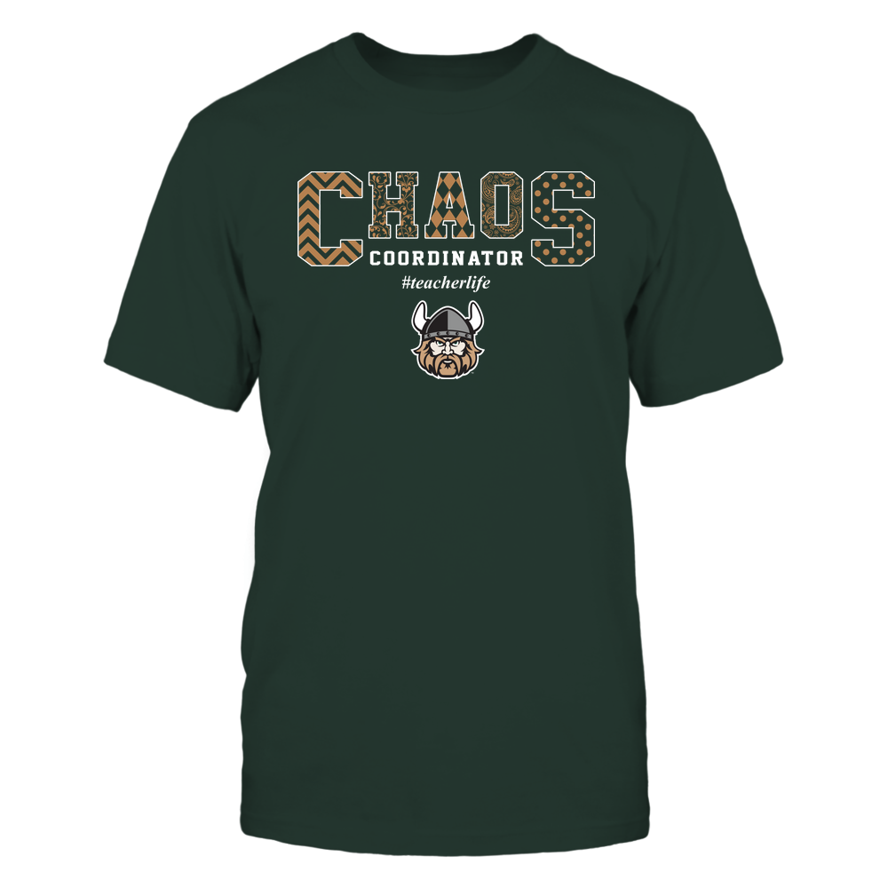 Cleveland State Vikings - Teacher - Chaos Coordianator Front picture