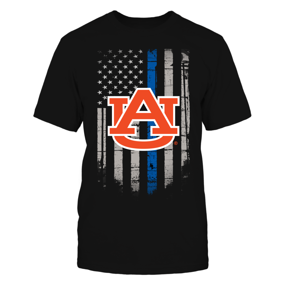 Thin Blue Line - Auburn Tigers Front picture