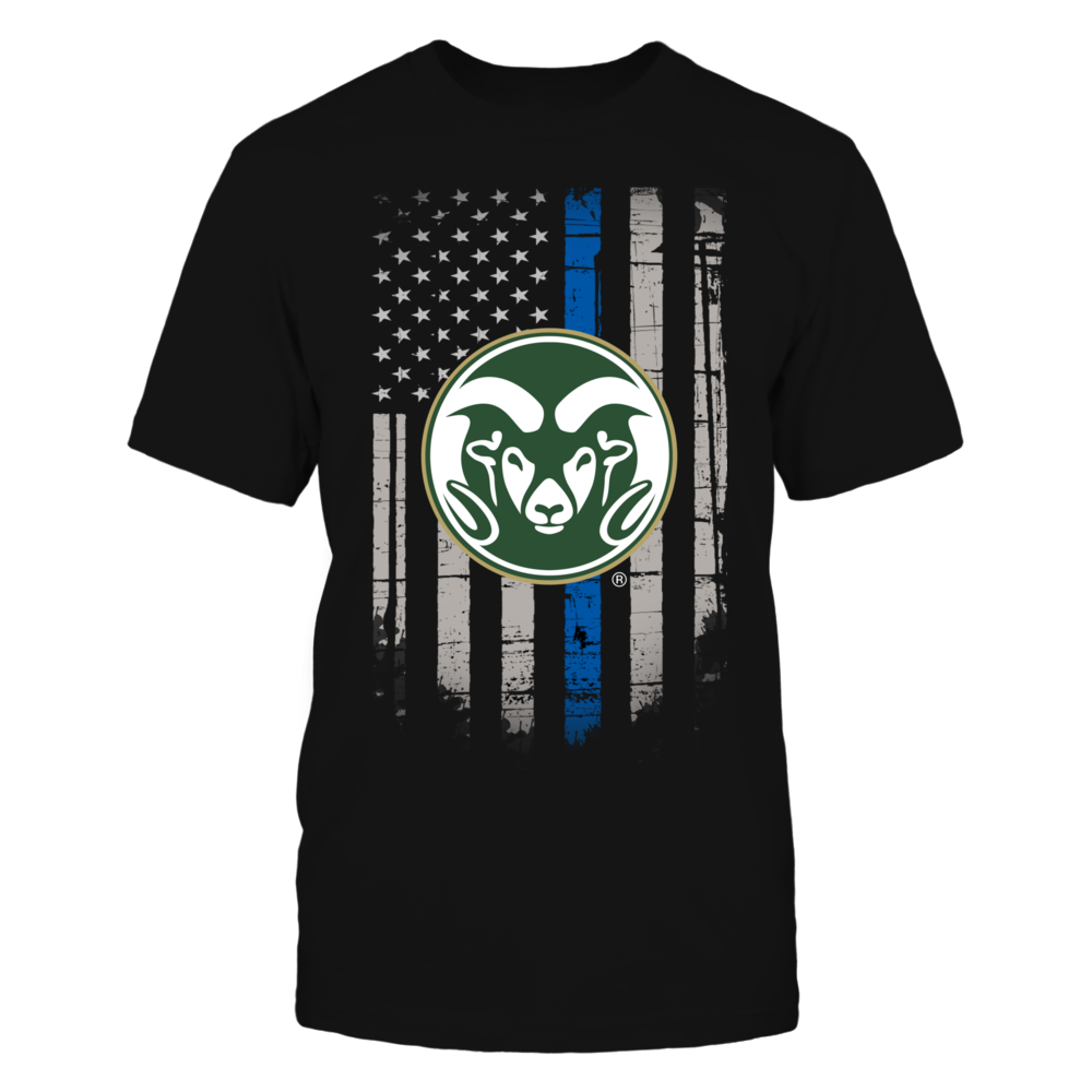 Thin Blue Line - Colorado State Rams Front picture