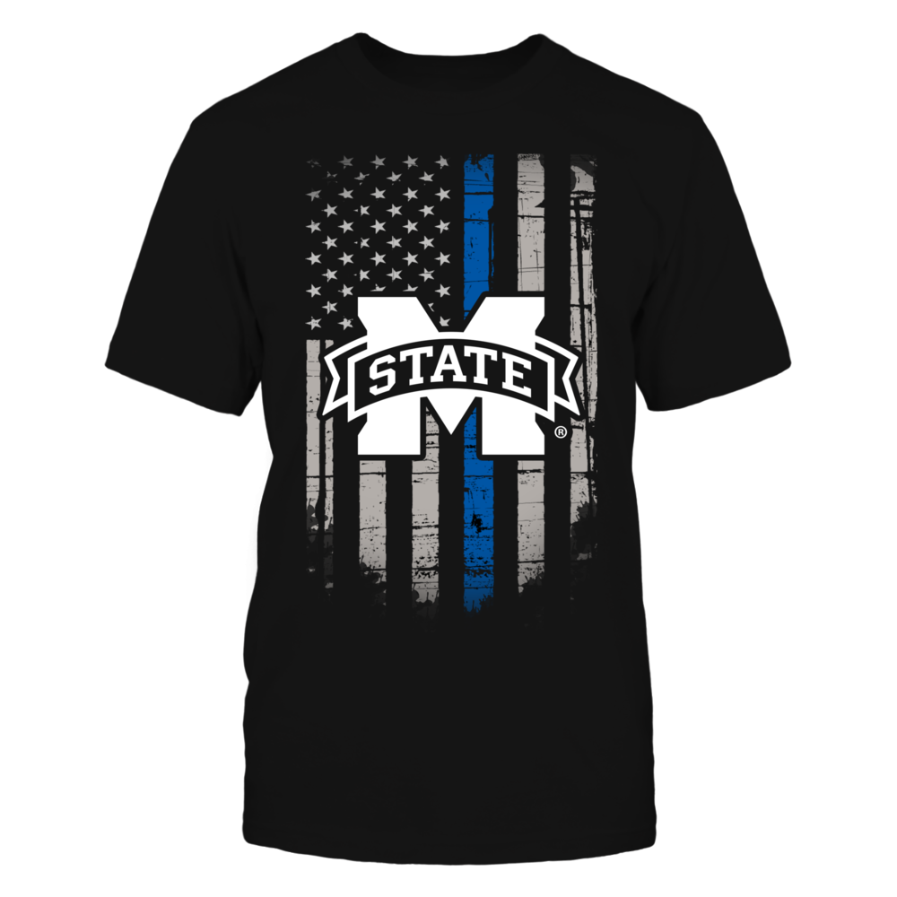 Thin Blue Line - Mississippi State Bulldogs Front picture