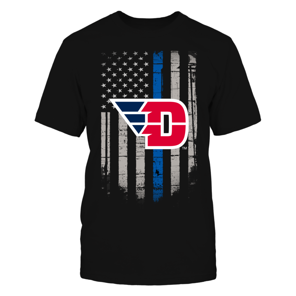 Thin Blue Line - Dayton Flyers Front picture