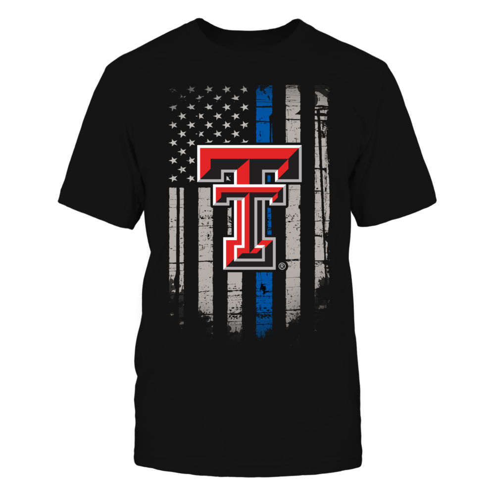 Thin Blue Line - Texas Tech Red Raiders Front picture
