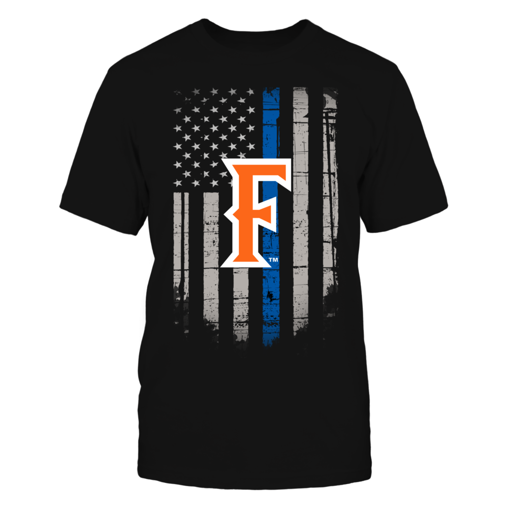 Thin Blue Line - Cal State Fullerton Titans Front picture