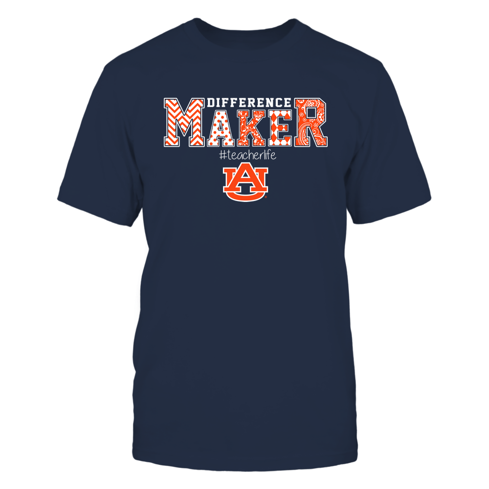 Auburn Tigers - Teacher - Difference Maker Front picture