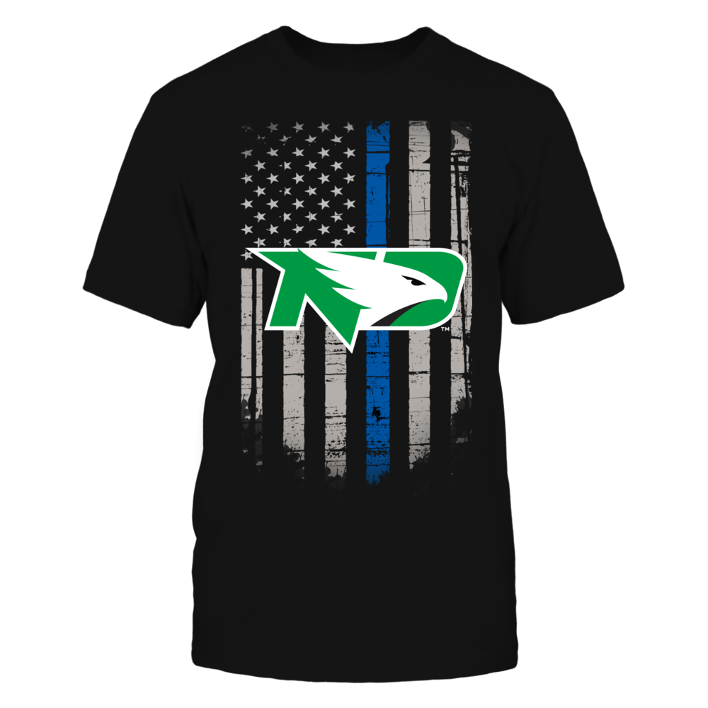 Thin Blue Line - North Dakota Fighting Hawks Front picture
