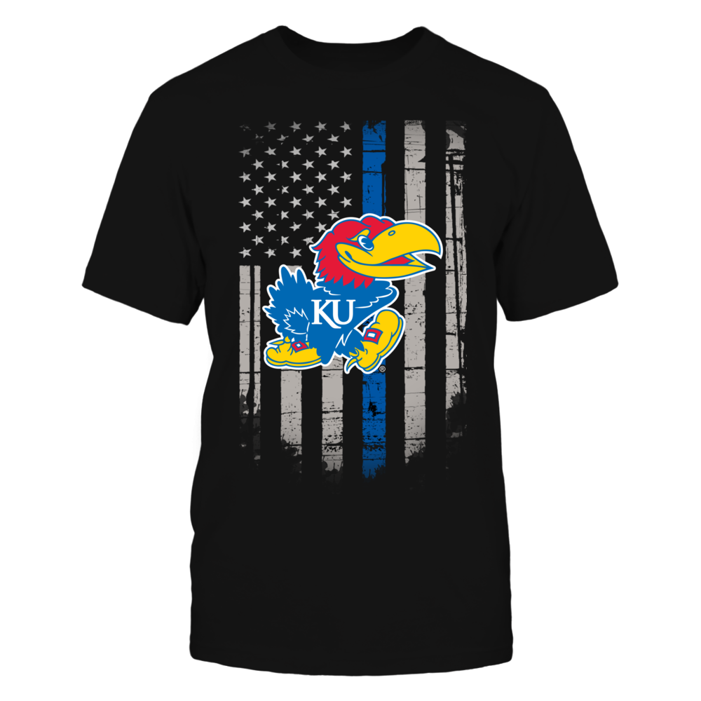 Thin Blue Line - Kansas Jayhawks Front picture