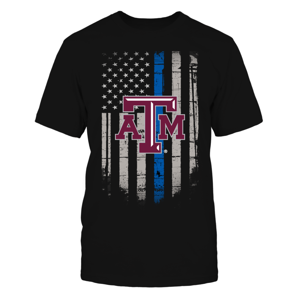Thin Blue Line - Texas A&M Aggies Front picture