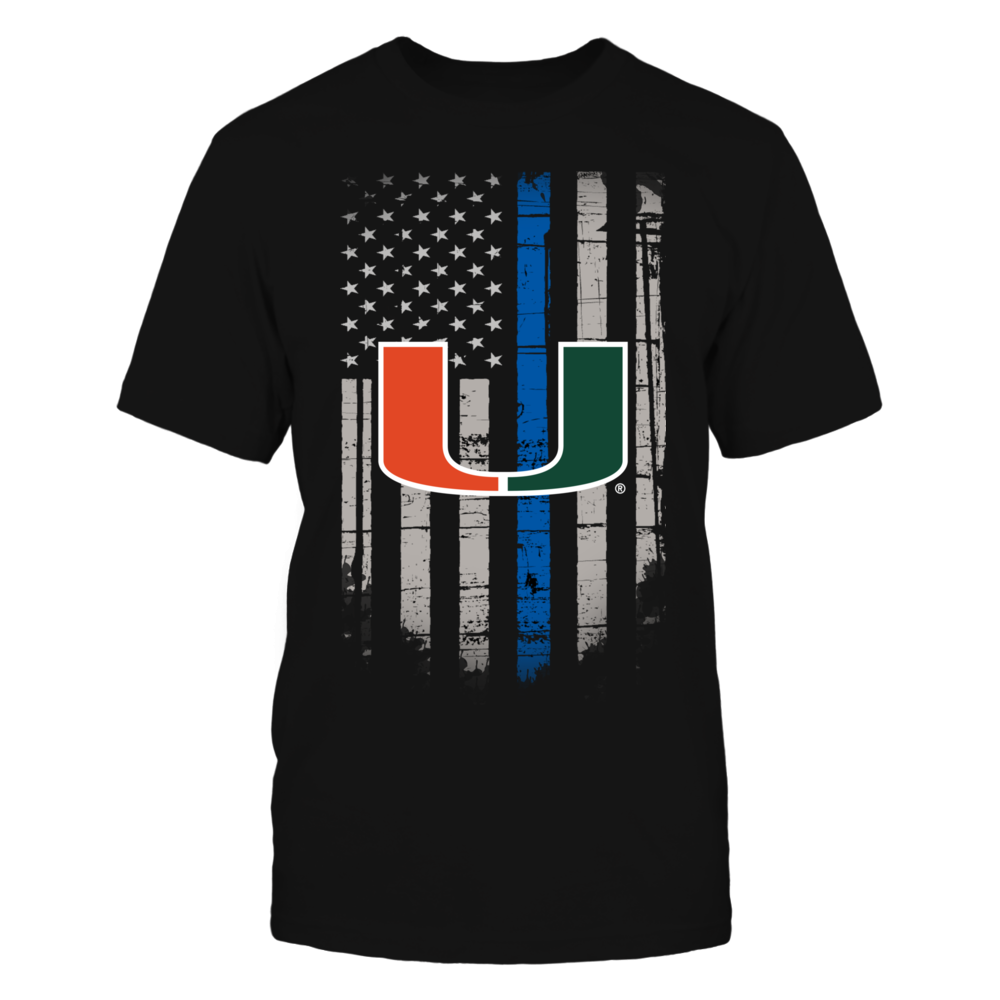 Thin Blue Line - Miami Hurricanes Front picture