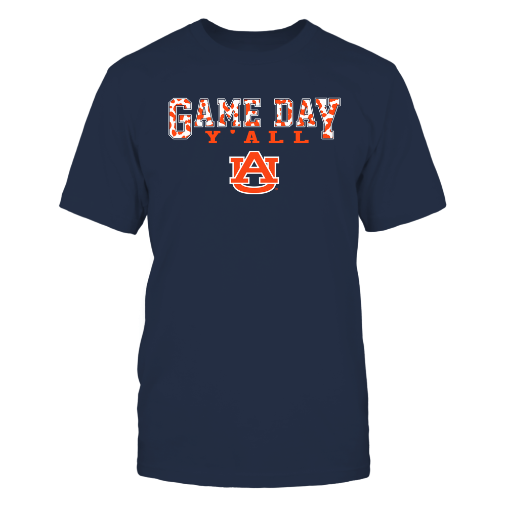 Auburn Tigers - Gameday Y'all - Leopard Pattern - Team Front picture