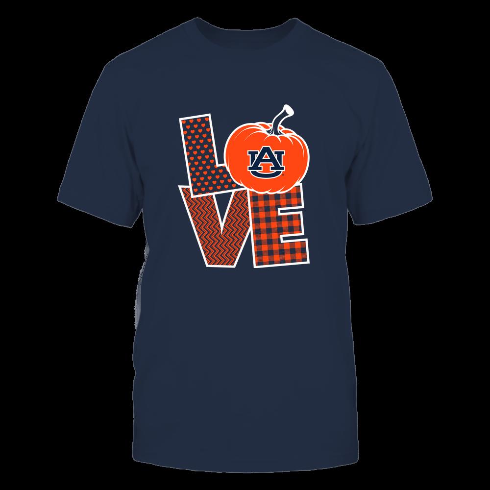 Auburn Tigers - Love Life - Pumpkin - Team Front picture