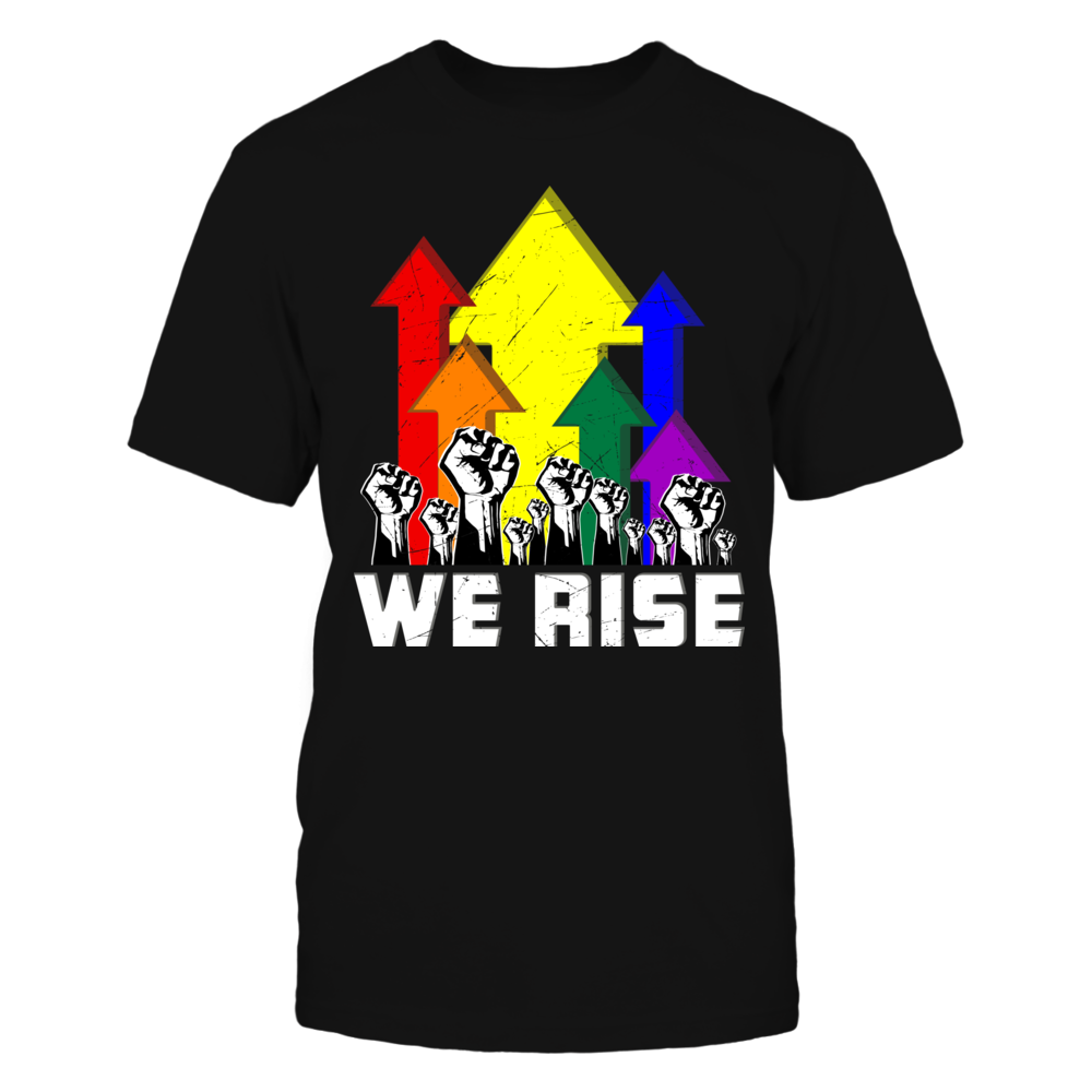 TShirt Hoodie We Rise LGBT Gay Pride FanPrint