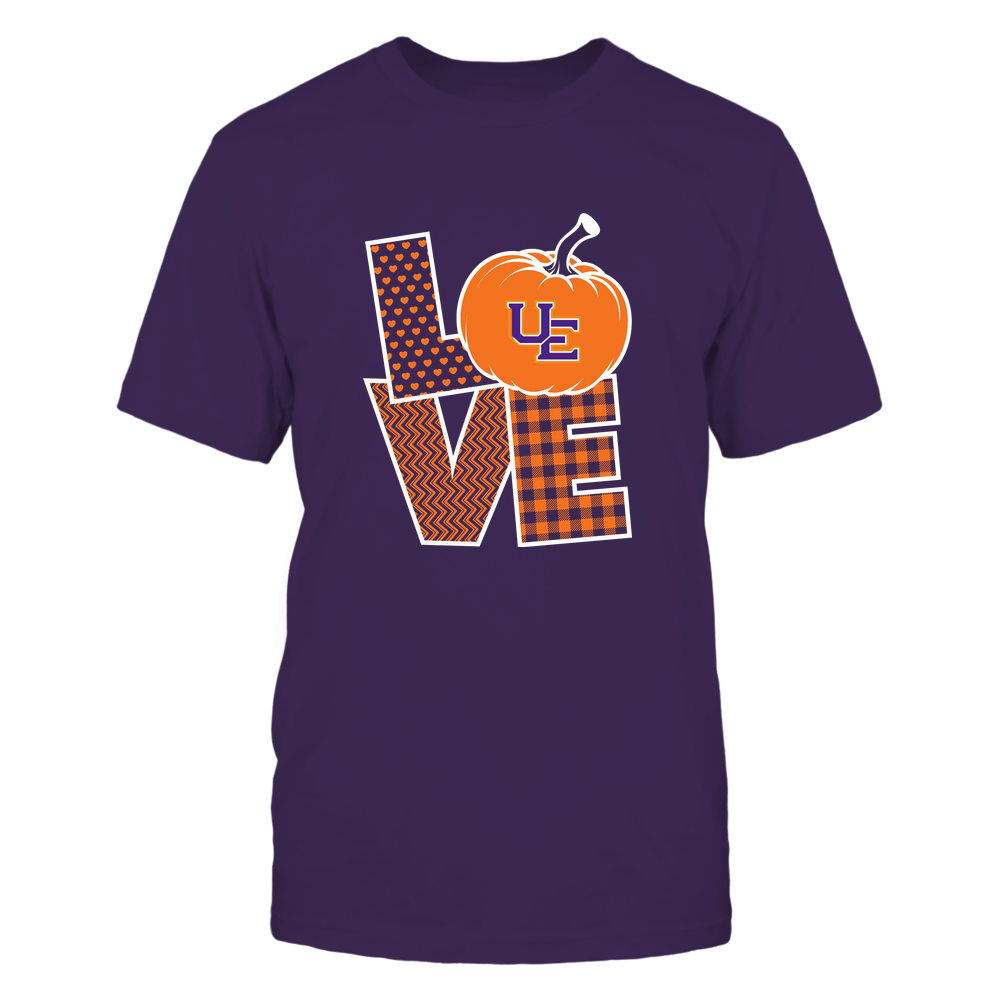 Evansville Purple Aces - Love Life - Pumpkin - Team Front picture